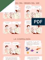 Comic Sobre La Antropologia y Cosmología