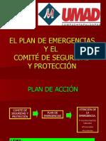 DIFUSION PLAN DE EMERGENCIAS