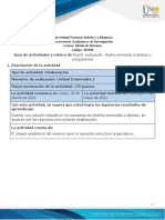 Paso 3 - Diseño Orientado a Objetos y Componentes