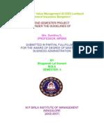 Bhagawathilal -0514-Customer Value Management At ICICI