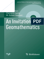 An invitation to geomathematics_Willi Freeden & outros