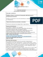 1 - Ficha de lectura para el desarrollo de la fase 2