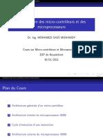 Chap_01_Architecture des microcontrôleurs et des microprocesseurs