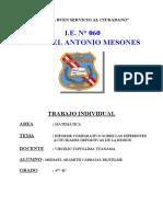 INFORME COMPARATIVO SOBRE LAS DIFERENTES ACTIVIDADES DEPORTIVAS DE LA REGIÓN