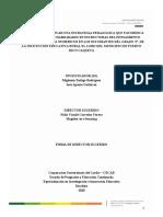 Formato presentación propuesta de investigación