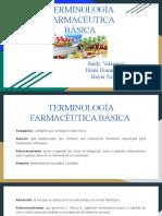 TERMINOLOGÍA FARMACÉUTICA BÁSICA