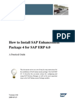 How-To Install SAP ERP - EHP4 (incl. SAP Solution Manager - Maintenance Optimizer)