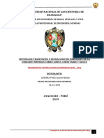 TRASPORTE DE MINERALES