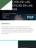 Aplicación de La Estadística en Las Empresas Tovar