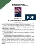 Su Propia Contrainteligencia. Guía Práctica Valery Mikhailovich Zemlyanov