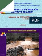 INSTRUMENTOS DE MEDICION PARA EL AGUA