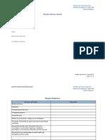 Formato diseño instruccional  cursos en línea