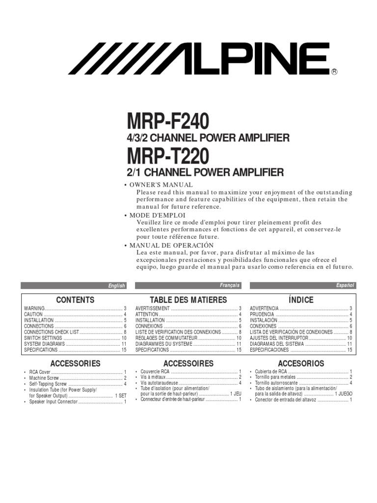 Ungewöhnlich Alpine Cva 1005 Schaltplan Galerie - Der Schaltplan ...