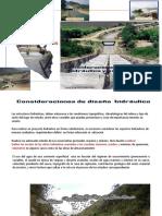 3.Semana 2 Sesión 03 consideraciones diseño  hidraulico-estructural