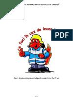 carte colorat incendii copii educatori