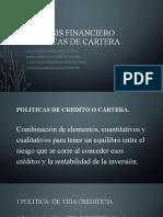 ANALISIS FINANCIERO POLITICAS CUENTAS POR COBRAR-2222