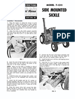 WheelHorse Side mounted Sickle Mower Owners Manual 7-1311_375