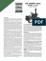 WheelHorse Sickle Mower Parts List 7-1321_A-5123