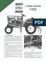 WheelHorse cultivator  7-1722_A-5153