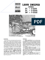 WheelHorse Lawn Sweeper Manual 7-2511