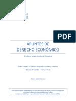 Apuntes de Derecho Económico