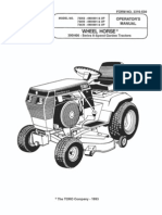 toro wheelhorse demystification electical wiring diagrams for all wheel horse maintenance 1993 wheelhorse 312, 314, 416 owners manual for models 73362, 73400, 73420