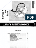 WheelHorse Battery Charger service manual for WheelHorse model E-141 electric tractors 810274