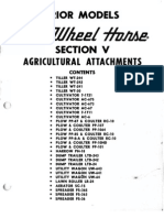 Older Wheel Horse Attachments