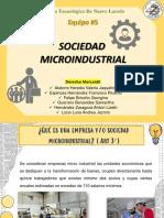 La Sociedad Microindustrial