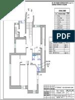 План.схема расстановки сантехнического оборудования 2 этаж