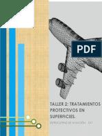 TALLER 2 - TRATAMIENTOS PROTECTIVOS DE SUPERFICIES