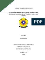 Paper Ekonomi Teknik