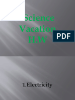 Vacation H.W (Science)
