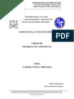 3.2. ESTRUCTURA Y TIPOLOGÍA-DESARROLLO DE COMPETENCIAS