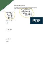 Ecuaciones con Operaciones inversas