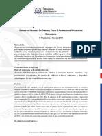 SÚMULA DAS DECISÕES TRIBUNAL FISCAL E ADUANEIRO DE SOTAVENTO E BARLAVENTO_4 TRIMESTRE_2019