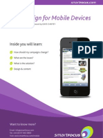 Email Design for Mobile Devices