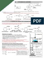 T.P. 16 Correction. SYNTHESE DE L`ASPIRINE II. Synthèse de l - Chiens