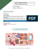 planeacion de lengua castellana grupo 1