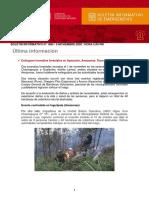 Boletín Informativo de Emergencias Nº 1885