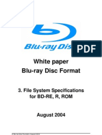 Blu-ray Disc Format - File System Specification