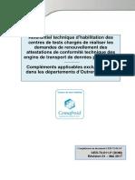 Référentiel CDT règlement techniques DOM