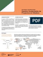 Diplomado Gestión Sustentable de Proyectos en Madera -ESP