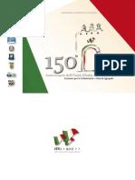 Brochure Agropoli, festeggiamenti 150 anni Unità d'Italia