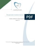MCS-001---Issue-1.5-Installer-Certification-Scheme-Requirements-25-Feb-09[1]
