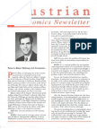 Austrian Economics Newsletter Winter 1995