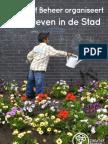 Landleven in de stad, Creatief Beheer folder