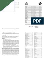 Manuale Unico Italiano Seiwa Chart Plotters