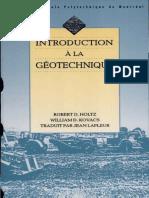 Introduction à La Géotechnique_R.D. Holtz Et Al.