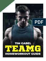 TeamG_Homeworkout_Guide